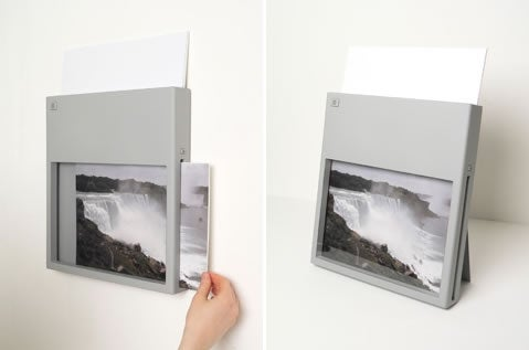 Wall-Mountable Wireless Printer Saves Space, Frames Up Your Print