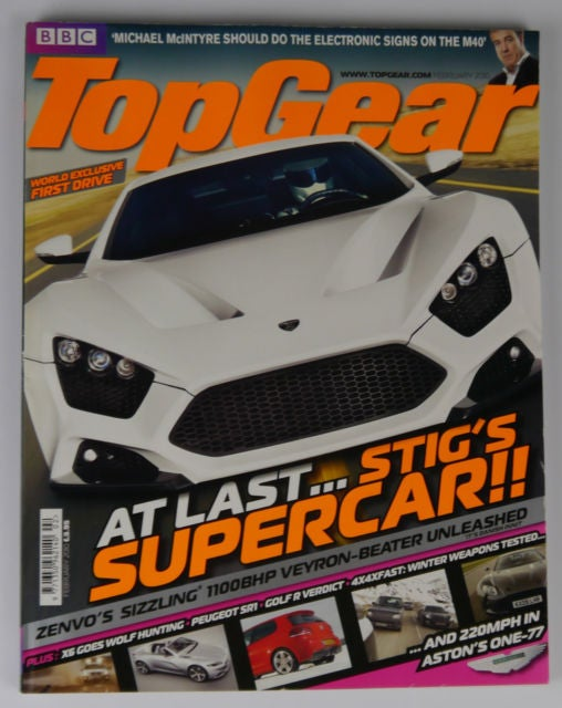 Zenvo steps up to Top Gear with a press release