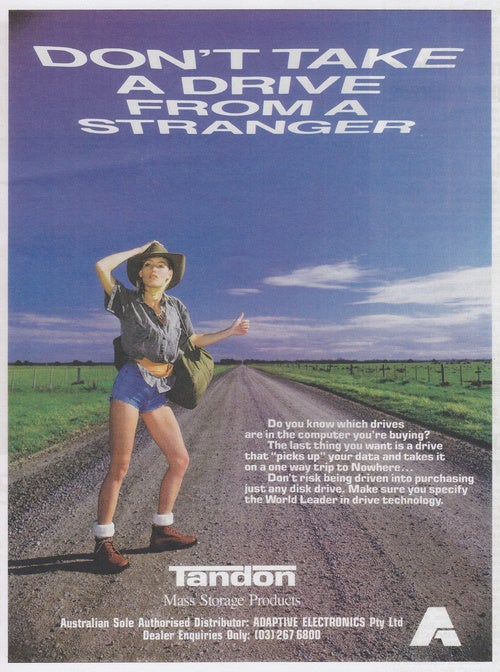 Australian Tech Ads From the '80s Are as Odd as Their Animals