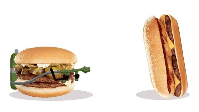 Smackdown: Burger King's Extra Long BBQ Vs. McDonald's Jalapeño Double