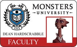 Monster University Poster and IDs