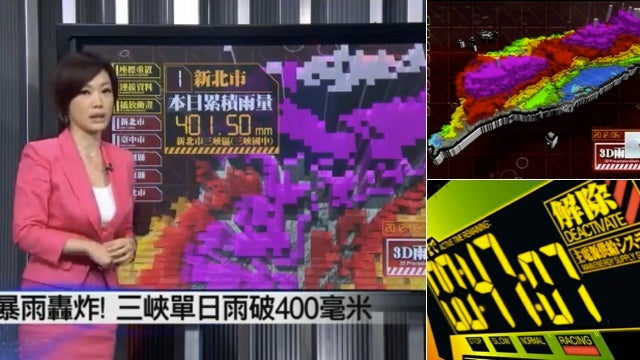 In Taiwan, the Weather News Is Fit for an Apocolyptic Future and Huge Mecha