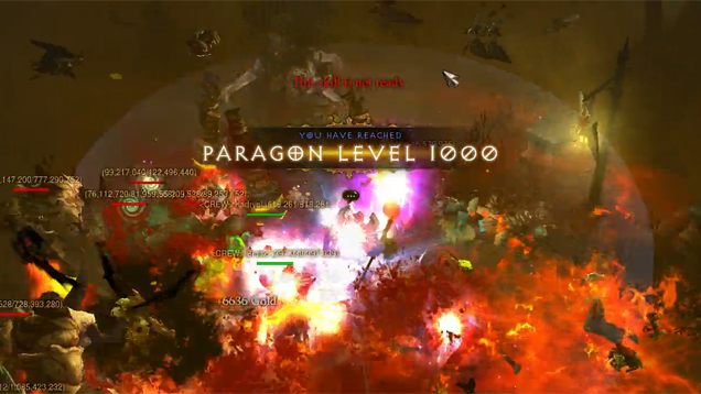 Here's The World's First Level 1000 Diablo III Character