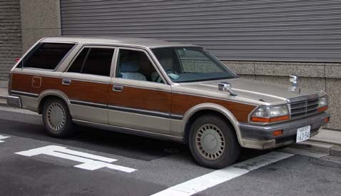 Down On The Tokyo Street: Nissan Gloria Woody