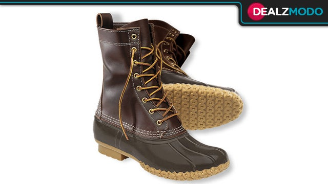 These Iconic L.L. Bean Boots Are Your Gizmodo's-Unofficial-Shoe Deal of the Day