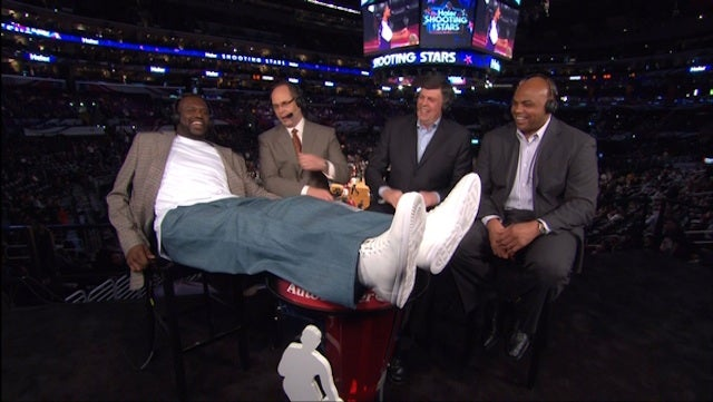 Shaq Hired To Hang Out With Charles Barkley On A Regular Basis