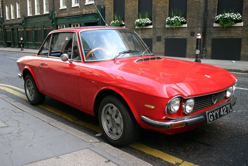 1972 Lancia Fulvia 1600HF Down On The London Street