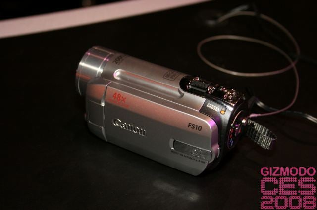 Canon's FS11, FS10 and FS100 Camcorders...Nine Ounces of Flash Bliss