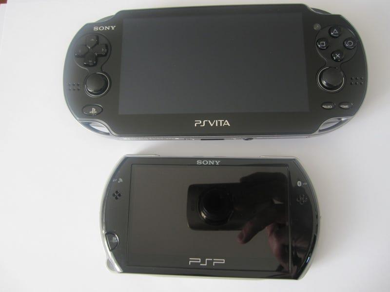 The Great PS Vita Size Comparison