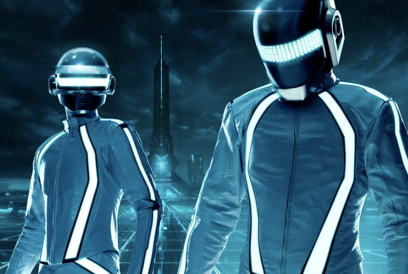 First look at Daft Punk inside Tron City, plus an all-new digitized track