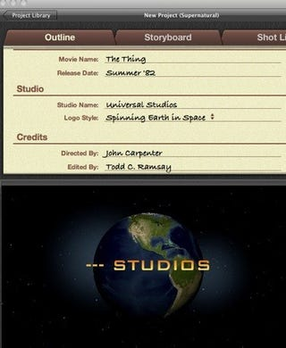 Bad Luck Pretending Your iMovie '11 Creations Are by Famous Movie Studios