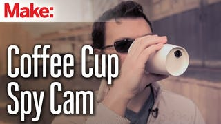 Build a Spy Camera Inside a Coffee Cup