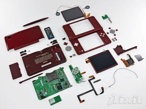 Nintendo DSi XL Torn Asunder