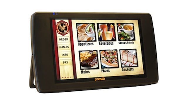 We Could Soon Be Ordering Food on Rubber-Coated Tablet Menus
