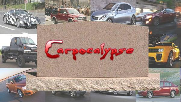 Twelve Cars Killed By The Carpocalypse