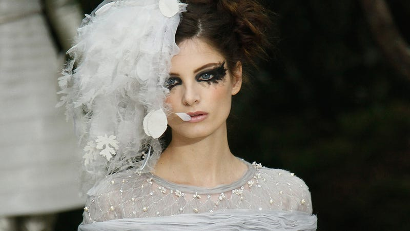 Chanel Haute Couture: For the Bedraggled Black Swan Lady Who Lunches in You