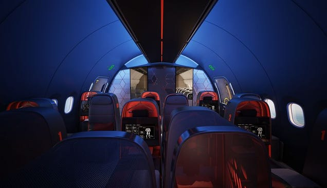 Nike's Concept Jet For Pro Athletes Is a Luxury Lounge at 40,000 Feet