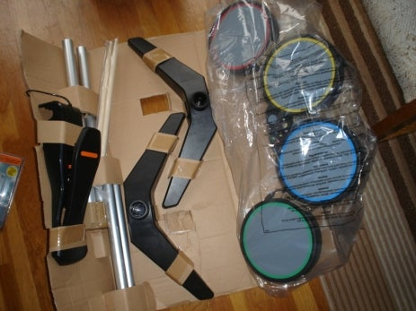 Rock Band Gear Unboxed: Christ, That's a Lot of Boxes