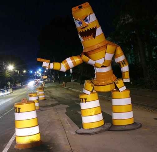 Seven Surreal Road Art Scenes