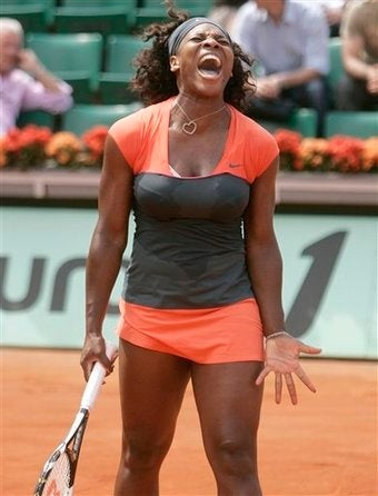 Serena Williams Bounced From French Open