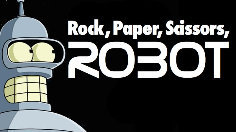 Japanese researchers create an unbeatable rock-paper-scissors playing robot