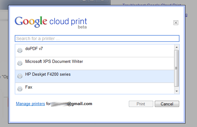 Google Cloud Print Now Open for Chrome Dev on Windows, Prints to Any Printer from the Web