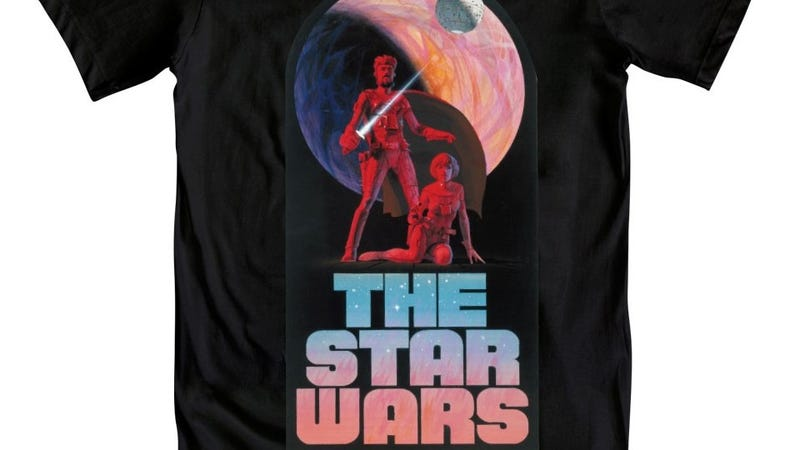 A collection of Star Wars t-shirts that can serve as your entire back-to-school wardrobe