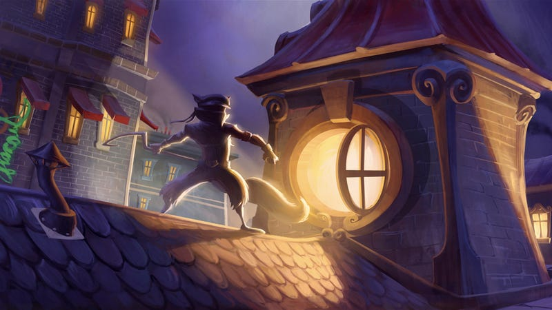 Sly Cooper: Thieves in Time Art and Trailer Steal Beauty