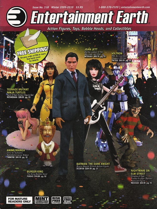 Entertainment Earth: Bring Christian Bale & Joan Jett Home For Christmas