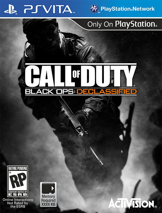 This Looks Like the First Information on the Vita's Upcoming Call of Duty Game [UPDATE]