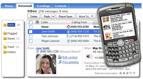YouMail Replaces, Transcribes Your Voicemail