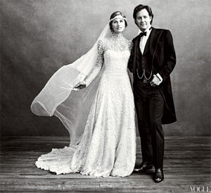 Here Are Pictures of Lauren Bush's Strange Pioneer Wedding