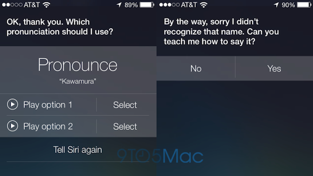 Siri Actually Cares How Names Are Pronounced in iOS 7