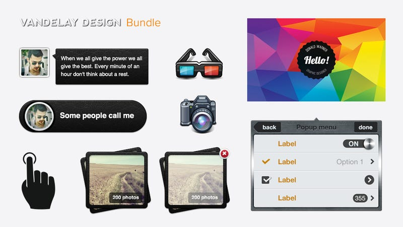 Get the Summer Design Bundle, 2.5 GB of Design Assets for $39 (94% off)