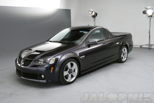 2010 Pontiac G8 Sport Truck: The El Camino Is Back!