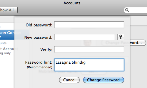 Use Word Association to Create Secure Password Hints