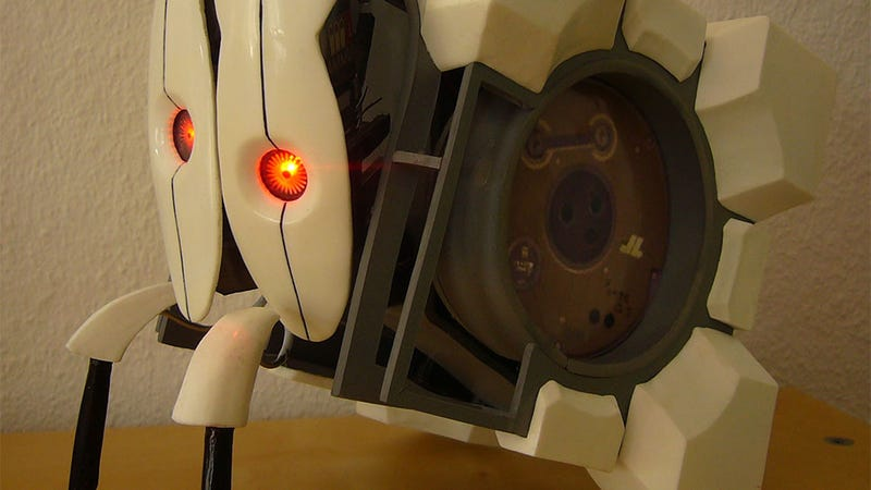 Portal 2's Crimes Against Nature Immortalised In Mechanical Tribute