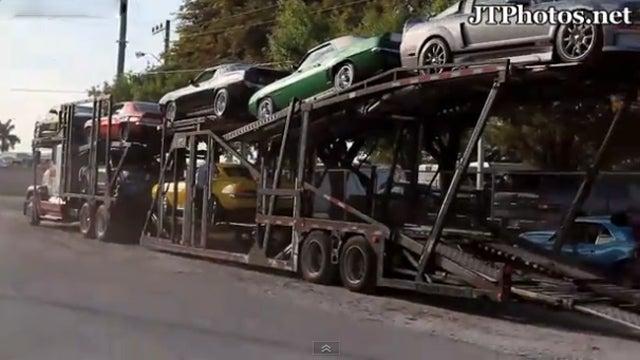 Watch the DEA seize an unbelievable car collection