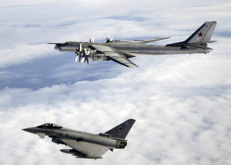 27 high tension photos of NATO jets intercepting Russian warplanes