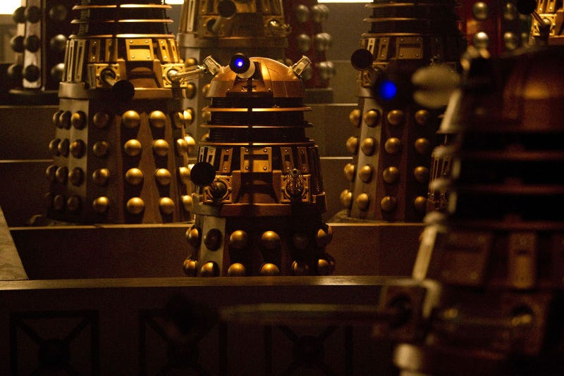 Dr.Who Asylum of the Daleks Promo Photos