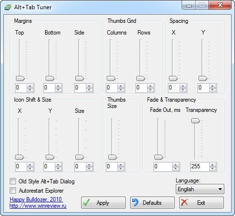 Alt+Tab Tuner Makes Windows 7's Task Switcher Thumbnails Larger and Much More