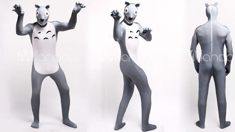 This Totoro Skin Suit Is The Stuff Of Nightmares