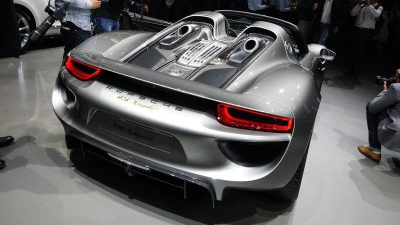Isn't this the most beautiful hybrid car ever created? (But of course)