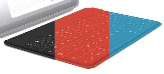 Logitech's New iPad Keyboard Hides Mechanical Keys in a Spillproof Skin