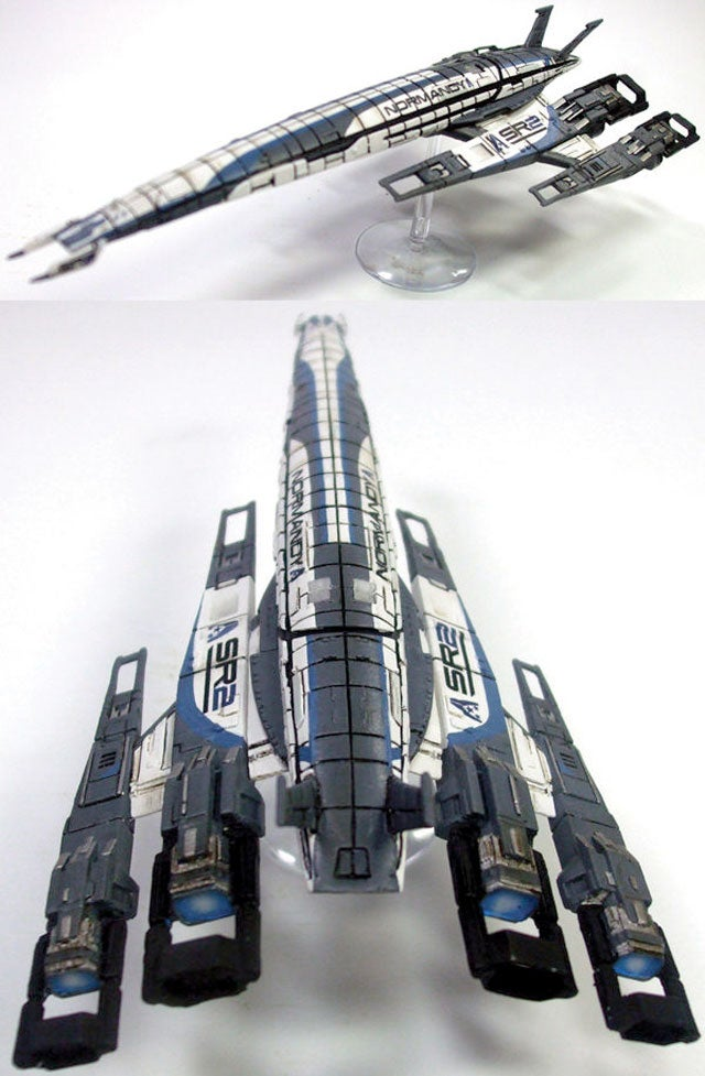 Mass Effect's Normandy Has A New Coat Of Paint