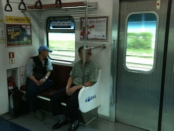 Crisis in South Korea: Feisty Old People Who Want Subway Seats
