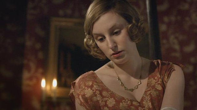 Old Dickhead Interrupts Lady Edith at the Theater