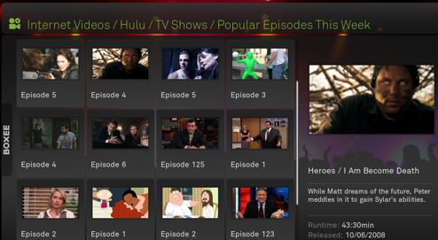 Boxee Adds Hulu Support to Your Media Center