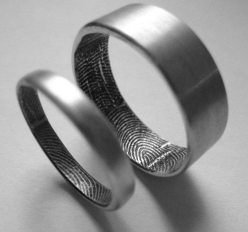 Prevent Imposter Lovers With The Fingerprint Ring