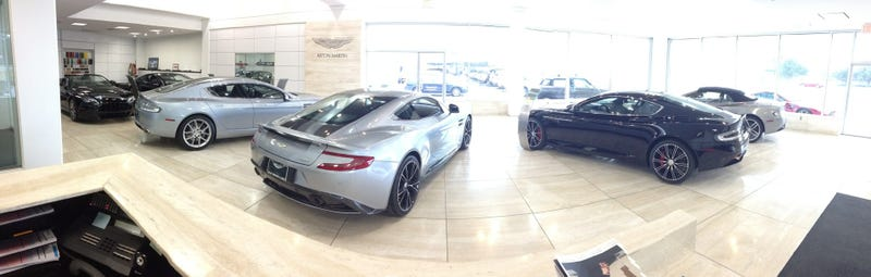 Want to drive Aston Martins all day?